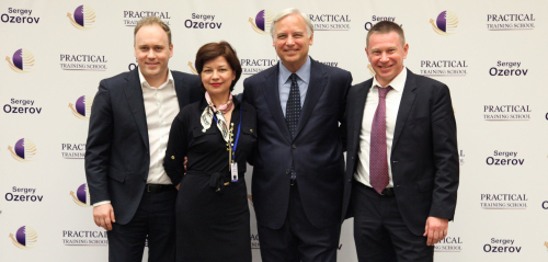 Sergey Ozerov and Jack Canfield and Talina and Dmitry